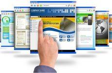 Design your business site using the professional designer