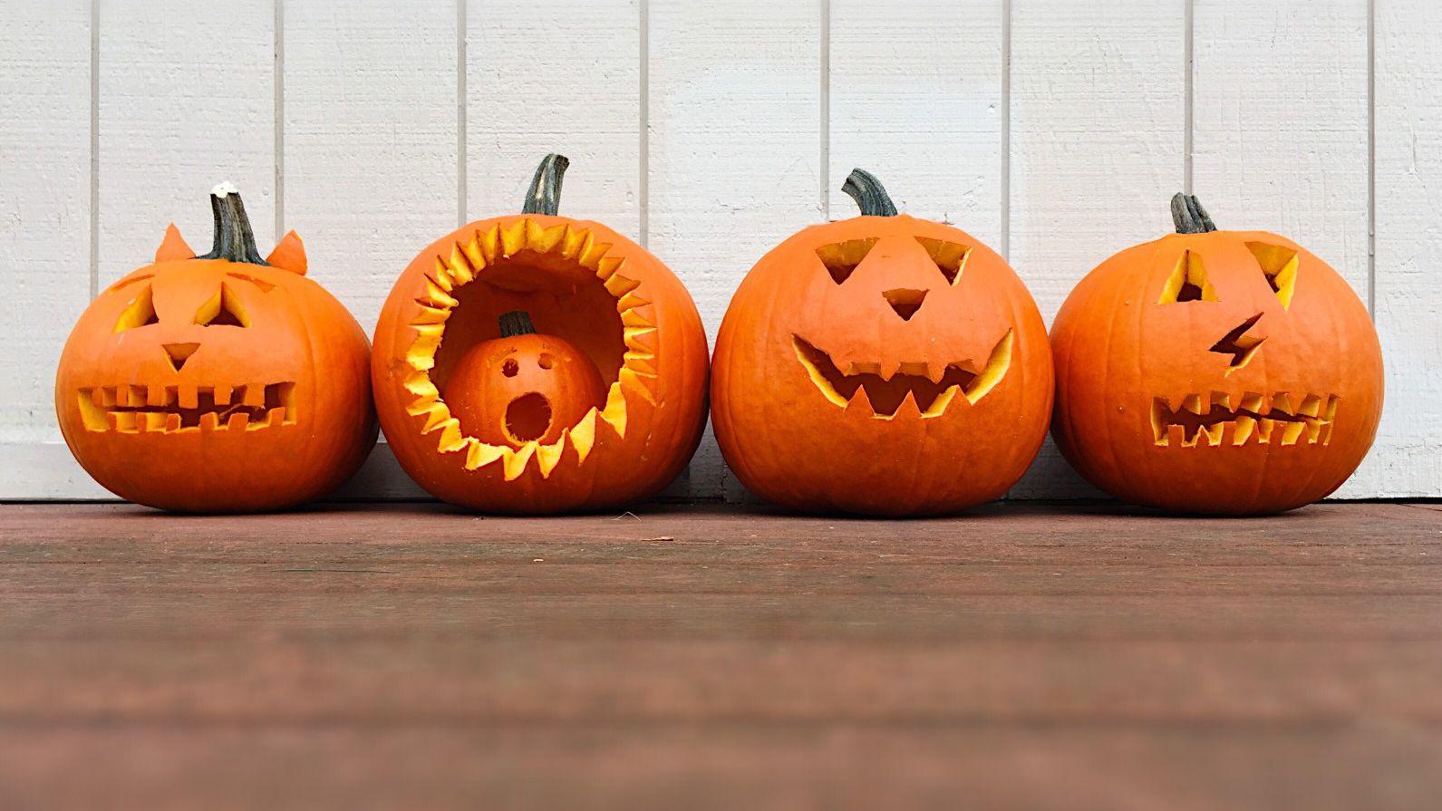 Understand How to Create a Fantastic Halloween Pumpkin.   People Like  Cybernavidad